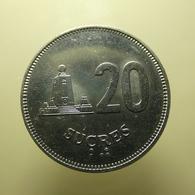 Ecuador 20 Sucres 1991 - Ecuador