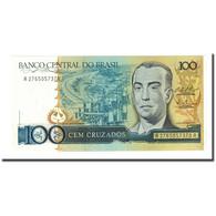 Billet, Brésil, 100 Cruzados, Undated (1988), KM:211c, NEUF - Brazil