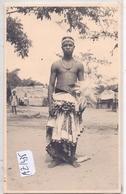 ELISABETHVILLE- LUBUMBASHI- CARTE-PHOTO- DANSEUR - Lubumbashi