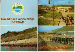 Yugoslavia,Serbia,Djerdap,construction Of A Hydroelectric Power Plant - Yugoslavia
