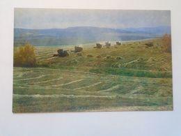 D171554 RUSSIA  ASIA- ULAN-UDE BURYATIA  Улаан-Үдэ  Ulaan-Üd  - Harvesting   1984 - Rusia