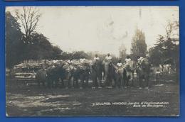 Village HINDOU   Eléphants  Et Carnac   Jardin D'Acclimatation   Animées   écrite En 1926 - Éléphants