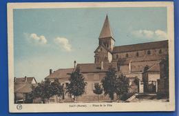 SACY     Place De La Fête         écrite En 1935 - Other Municipalities