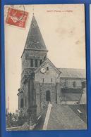 SACY      L'église       écrite En 1910 - Other Municipalities