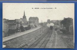 BECON   La Rue Cronstadt   Voie Ferrée   Train - Frankreich