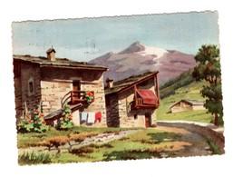 Cartolina Postcard  Carte Postale Postkarte BAITA VIAGGIATA 1957 - Italia