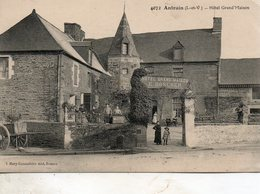 Antrain -    Hôtel  Gran'd  Maison. - Autres Communes