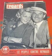 Regards N°158 13 Août 1948 La Terre Tremble à San Sepolcro , Picasso Céramiste à Vallauris, Jan Kiepura Martha Eggerth - 1900 - 1949