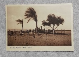 Cartolina Illustrata Somalia Italiana - Alula, Pozzo - Somalie