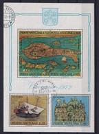 Vatican 1972, S/s MiBlock 3 Vfu - Blocs & Feuillets