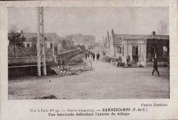 5050  14  18    P DE CALAIS   ????     ECRITE - Oorlog 1914-18