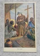 """Cartolina Missioni Francescane """"tra I Negri"""" - Non Viaggiata - Misiones"""