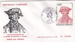 Gabon 1978, FDC Durer, LIMITED EdITION (2.000 Ex.) - Gabon (1960-...)