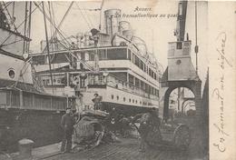 BELGIQUE - ANVERS  Un Transatlantique Au Quai - Antwerpen