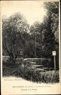 Cp Montgeron Essonne, La Rivière D'Yerres, Paysage De La Prairie - Autres Communes