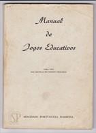 Portugal Manual De Jogos Educativos Mocidade Portuguesa Feminina MPF Escolas Profissionais Salesianas Ofícinas São José - Libros, Revistas, Cómics