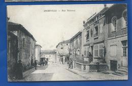 ANCERVILLE    Rue Debraux      Animées    écrite En 1916 - Other Municipalities