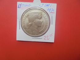 LETTONIE 5 LATI 1931 ARGENT (A.12) - Letonia
