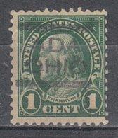 USA Precancel Vorausentwertung Preo, Locals Ohio, Ada 551-556, Perf. Not Perfect - Vereinigte Staaten