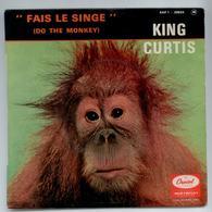 VINYLE 45T SOUL KING CURTIS EAP 1 20524 DO THE MONKEY FAIS LE SINGE LANGUETTE - Rock