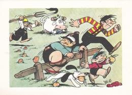 (TEM073) - GLI SPORT SECONDO JACOVITTI - SERIE 5 CARTOLINE (1946 - 1947) - Humour