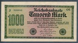 Pick76a Ro75a DEU-84l  1000 Mark 1922 ** UNC NEUF - [ 3] 1918-1933 : Weimar Republic