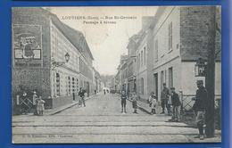 LOUVIERS   Rue St Germain  Passage à Niveau     Animées - Louviers