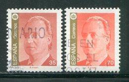 ESPAGNE- Y&T N°3101 Et 3102- Oblitérés - 1931-Oggi: 2. Rep. - ... Juan Carlos I
