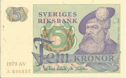 5 Kronor 1979 - Suecia