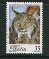 ESPAGNE- Y&T N°3103- Oblitéré (lynx) - 1931-Oggi: 2. Rep. - ... Juan Carlos I