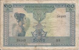 10 Kip 1962 - Laos