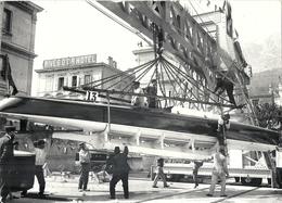 MONACO . PREPARATIFS COURSE CANOTS . BRA F 693 - Barche