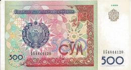 500 Sum 1999 - Uzbekistan