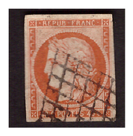 Timbre N° 5 Obl. Signé BRUN - 1849-1850 Ceres