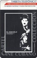 Italien ETECSA Phonecard Charly Chaplin Comiker - Stripverhalen