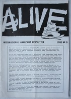 International ANARCHIST Newsletter Dutchland Nederland Issue N°0 Amsterdam 1990 Anarchy Anarchisme Anarchiste - Revues & Journaux