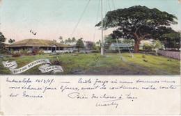 TONGA - The British Residency, Tonga - Carte Colorisée - 2 Scannes - Tonga