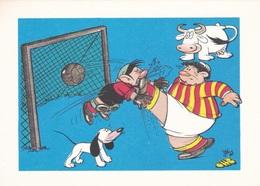 (TEM075) - GLI SPORT SECONDO JACOVITTI - SERIE 5 CARTOLINE (1946 - 1947) - Humour