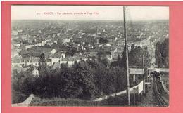 NANCY 1915 VUE PRISE DE LA CURE D AIR FENICULAIRE CARTE EN TRES BON ETAT - Nancy