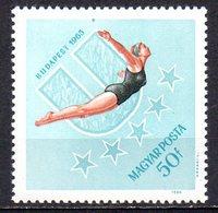 HONGRIE. N°1756 De 1965. Plongeon. - High Diving