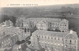 COUTANCES - Vue Générale Du Lycée - Coutances