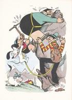 (TEM076) - GLI SPORT SECONDO JACOVITTI - SERIE 5 CARTOLINE (1946 - 1947) - Humour