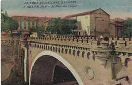 MONTAUBAN  Le Pont Des Consuls  Colorisée RV Cachet Union Des Femmes De France Hopital Auxliaire N°105 - Montauban
