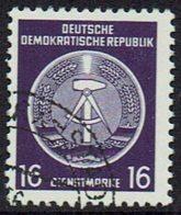 DDR, Dienstpost, 1954, MiNr.: 7, Gestempelt - Service