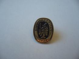 PIN'S PINS PIN PIN's ピンバッジ BUREAU VERITAS 1828 THÈME CONTRÔLES SÉCURITÉ CONTRÔLE TECHNIQUE AUTOMOBILES - Pin