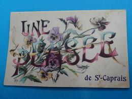 """33 ) Saint-caprais """" Une Pensée  - EDIT - Brocherioux - Autres Communes"""