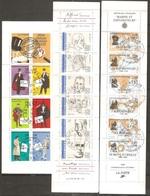 3 Carnets De 1988/91/96 ( France ) - Definitives