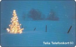 Schweden Phonecard Weihnachten Merry Christmas - Noel