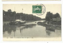 Calvados , Caen , L'arrivée Du Bateau Du Havre - Caen