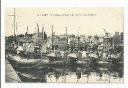 Calvados , Caen , Torpilleur Et Contre Torpilleurs Dans Le Bassin - Caen